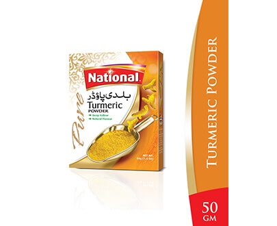 Order National Turmeric Powder 50g Online at Special Price in Pakistan - Asanbuy.pk