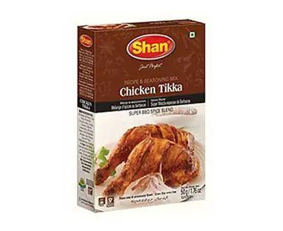 Shan Chicken Tikka BBQ Masala Powder 50 Grams