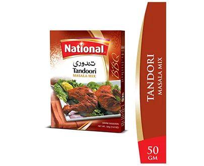 National Chicken Tandoori Masala Mix