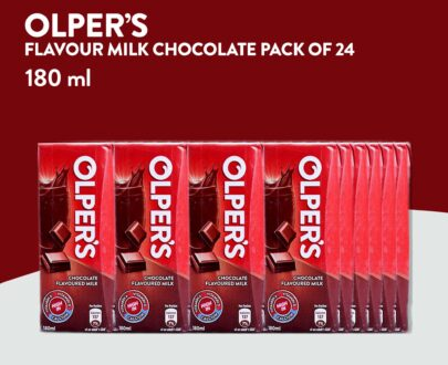 Olper`s Chocolate Flavored Milk 180ml Pack of 24