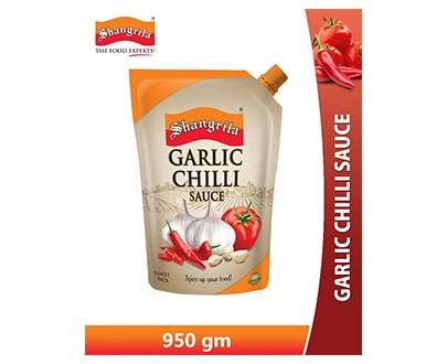 Shangrila Chili Garlic Sauce 950gm Pouch Online at Best Price in Pakistan
