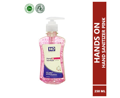 HO Hand Sanitizer 250ML Pink