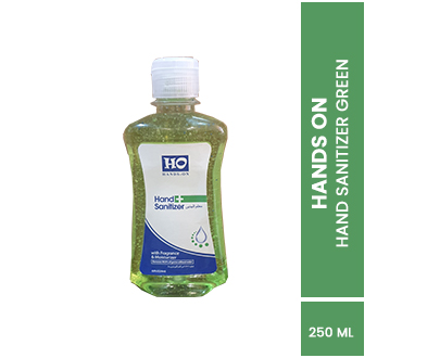 HO Hand Sanitizer Green Fliptop 250ml