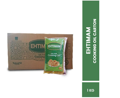 Order Ehtimam Cooking Oil 1ltr Pouch Pack of 12 Online at Best Price In Pakistan