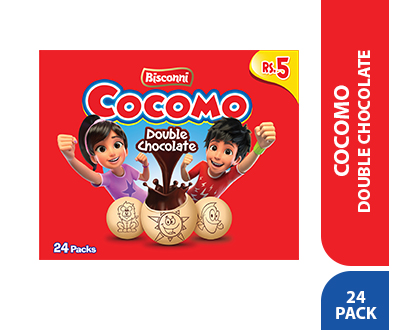 Order Bisconi Cocomo Double Chocolate, 24 tikky pack Online At Best Price