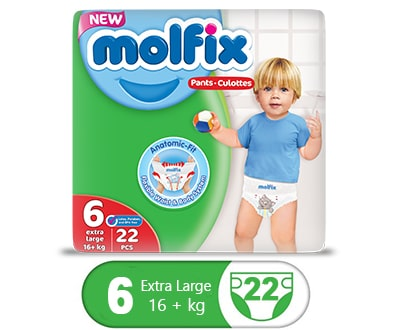 Order Molfix Baby Pants X-Large Twin Pack Size 6 Online At Best Price In Pakistan