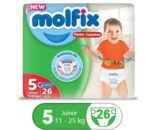 Order Molfix Baby Junior Pants Twin Pack Size 5 Online At Best Price In Pakistan