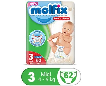 Order Molfix Baby Midi Pants Jumbo Pack Size 3 Online At Best Price In Pakistan