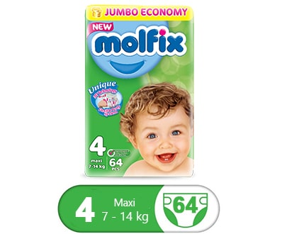 Order Molfix Baby Diaper Maxi Jumbo Pack Size 4 Online At Best Price In Pakistan