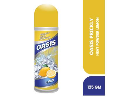 Order Oasis Prickly Heat Powder Lemon 125gm Online At Best Price In Pakistan