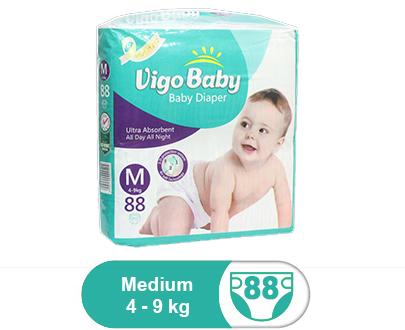 Vigo Baby Diapers Mega Pack - Medium Size 3