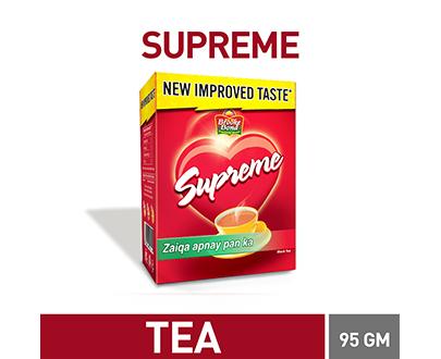 Order Brooke bond Supreme Black Tea 95gm Online at Special Price in Pakistan - Asanbuy.pk