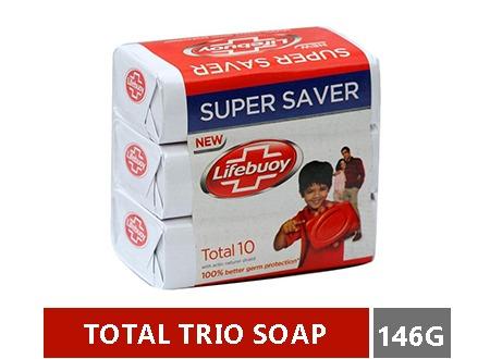 LIFEBUOY BAR TOTAL TRIO