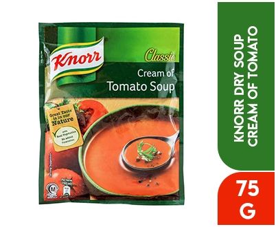 Knorr Dry Soup Cream of Tomato 75Gm