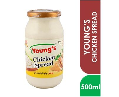 YOUNG'S CHICKEN SPREAD 500ml Botlle