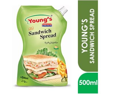 YOUNG'S SANDWICH SPREAD 500ml