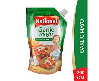 National Garlic Mayo - 200ml